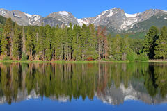 Pure Mountain Lake Stock Images