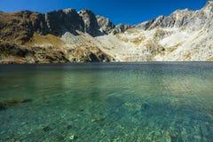 Pure mountain lake Stock Photography