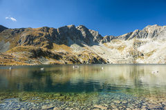 Pure mountain lake Royalty Free Stock Image