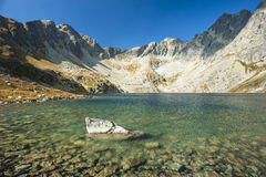 Pure mountain lake Stock Photography