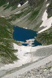 Pure mountain lake Stock Photos