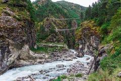 Pure mountain river Stock Photo