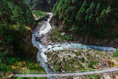 Pure mountain river Stock Photography