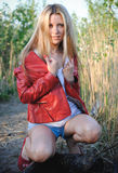 Pure, Natural, Beautiful Woman Royalty Free Stock Photo