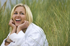 Pure Natural Laughter Stock Images
