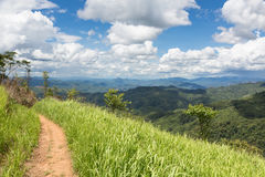 Pure nature in North Laos Stock Photo