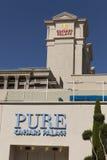 Pure Nightclub Sign in Las Vegas, NV on April 27, 2013 royalty free stock photos