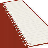 Pure notebook. Vector illustration Royalty Free Stock Images
