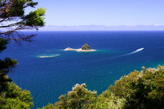 Pure Ocean Abel Tasman. Pure ocean in Abel Tasman National Park, new zealand, Nov 2007 Royalty Free Stock Photography