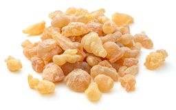Pure Organic Frankincense Resin isolated on white. Pure Organic Frankincense Resin isolated on the white background Stock Images