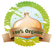 A pure organic label Stock Image
