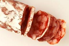 Pure pork dried sausage Stock Photo