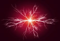 Pure Power and Electricity royalty free stock photos