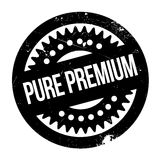 Pure Premium rubber stamp Stock Photography