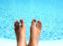Pure relaxation Royalty Free Stock Photos