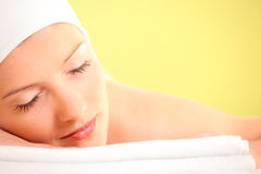 Pure relaxation Stock Photos