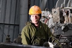 Pure russian drilling master Stock Photography