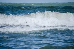 Pure and powerful sea royalty free stock images