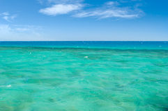 Pure sea water Stock Images