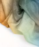 Pure silk Stock Photography