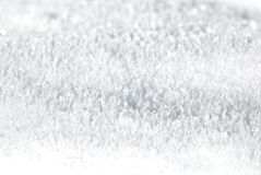 Pure snow. Close up of  pure white snow. Nice background Stock Photos