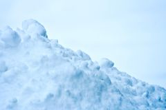 Pure snow Royalty Free Stock Images