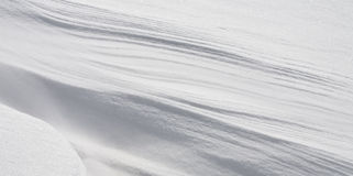 Pure snow. In the north of china Royalty Free Stock Photography