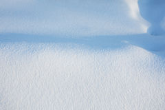 Pure snow texture Stock Image