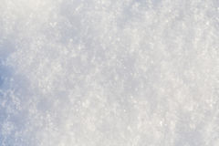Pure snow texture Stock Images