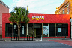 Pure Theatre, King Street, Charleston, SC. Stock Photography