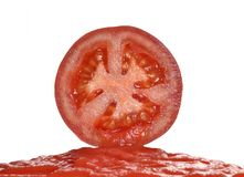 Pure tomato. Royalty Free Stock Photos