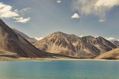 Pure turquoise mountain lake Royalty Free Stock Image