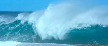 Pure water. Gigantic waves in western australia Royalty Free Stock Photos