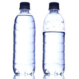 Pure water in bottle Stock Image