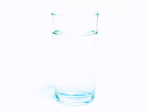 Pure water in clear glass Royalty Free Stock Photography