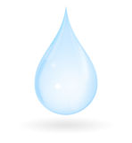 Pure Water Drop royalty free stock photo