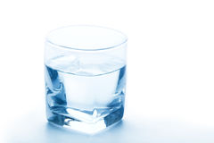 Pure water glass Stock Image