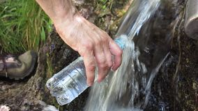 Pure water stock footage