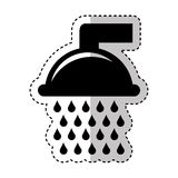 Pure water tap icon Royalty Free Stock Images