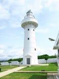 Pure white lighthouse Stock Photos