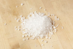 Pure White Sea salt for cooking Stock Photo