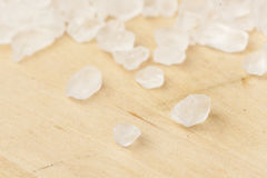 Pure White Sea salt for cooking royalty free stock photography