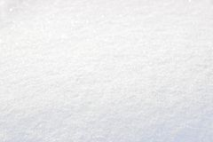 Pure white snow cover Royalty Free Stock Photography