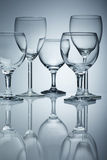 Pure wine glass Royalty Free Stock Images