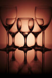 Pure wine glass Royalty Free Stock Photography