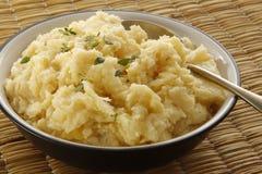 Purea di patate Fotografia Stock Libera da Diritti