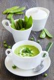 Puree the soup Stock Image
