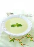 Puree soup zucchini Stock Photo