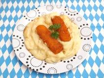 Puree van aardappels royalty-vrije stock fotografie