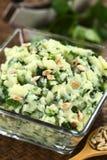 Puree Ziemniaczane z ziele Zdjęcie Stock